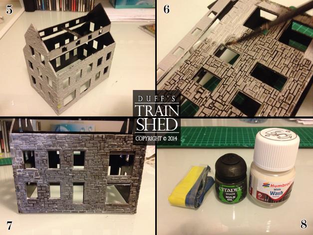RDA Delaney Iron Works - preparing the walls