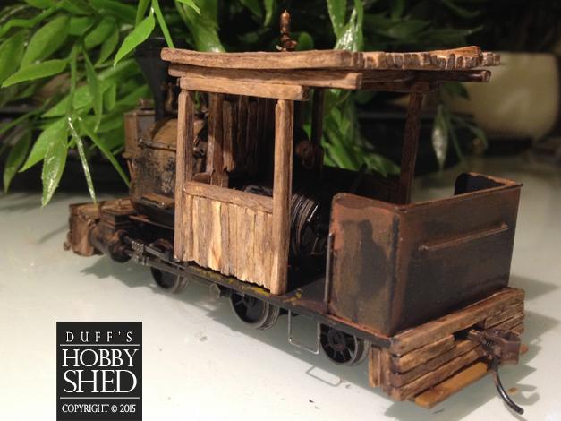 Rear wooden buffer in place.