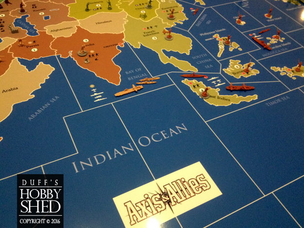 Giant Axis & Allies Board